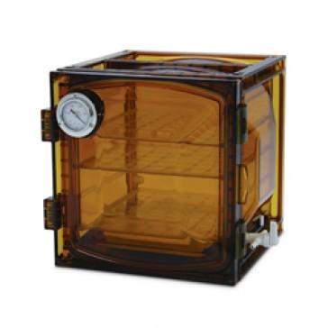 31076 lab companion amber cabinet vacuum desiccator 23 liter