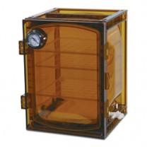 Lab Companion Amber Cabinet Vacuum Desiccators
