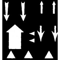 White Arrows Transfer Sheet (Set 1)