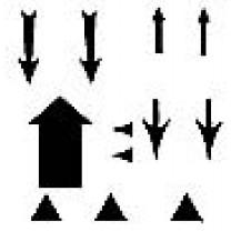 Black Arrows Transfer Sheet