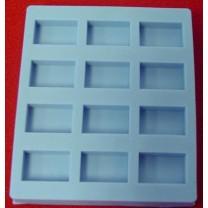 Special Mold - Twelve Blocks - Cavity size: 15mm (L) x 10mm (W) x 4mm (H)