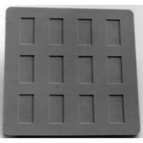Chang Monolayer Embedding Mold - 11mm x 22mm cavities
