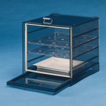 32156 - Dry-Keeper Smoke-Tinted Stacking Desiccator Cabinet
