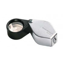 Metal Precision Folding Magnifiers - 17 mm Lens - Aplanatic