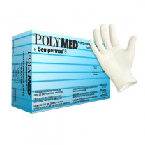 Polymed Textured Latex Gloves