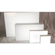 white abs plastic led light boxes