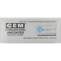 "Single edge, 0.009"" thick, Extra-Sharp, Stainless Steel Razor Blades"