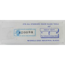 "Single edge, 0.012"" thick, Heavy-Duty, Carbon Steel Razor Blades"
