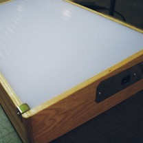 Wooden (Oak) Porta-Trace Light Box