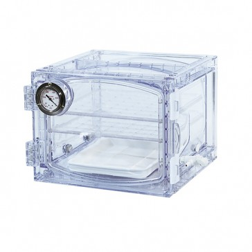 31075 lab companion cabinet vacuum desiccator  23 liter clear