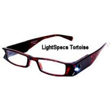 LightSpecs Tortoise Frame