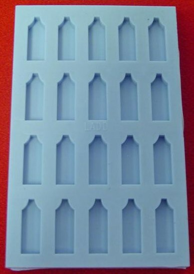21839 Special Silicone Embedding Mold Twenty Tapered