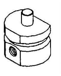 L03063 - Polisher Accessory - SEM Stub Mount ( 4 each )