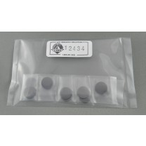 12434 - Carbon Planchet - Specially Smooth Planchet - 12.7 mm x 1.6 mm - 10 Pack