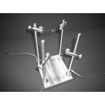 Dual Source Tungsten Basket / Crucible Holder