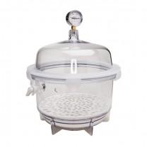 31067 lab companion round vacuum desiccator 10l clear
