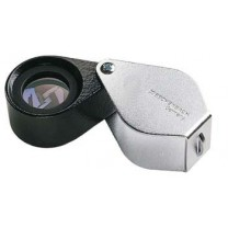 Metal Precision Folding Magnifiers - 17 mm Lens - Achromatic