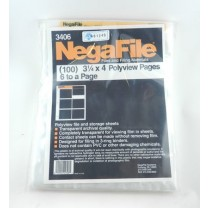 Negafile Polyview Polyethylene Storage Pages