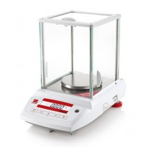 Ohaus Pioneer Plus Precision Balance with Draftshield Left