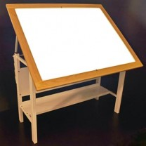 Oak Trimmed light Table